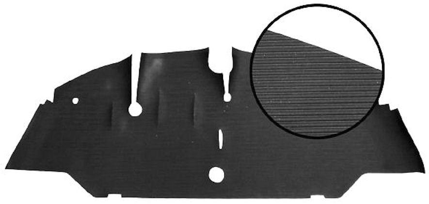 Rohož podlahy přední/pryž - Typ 2 (1950 » 55)