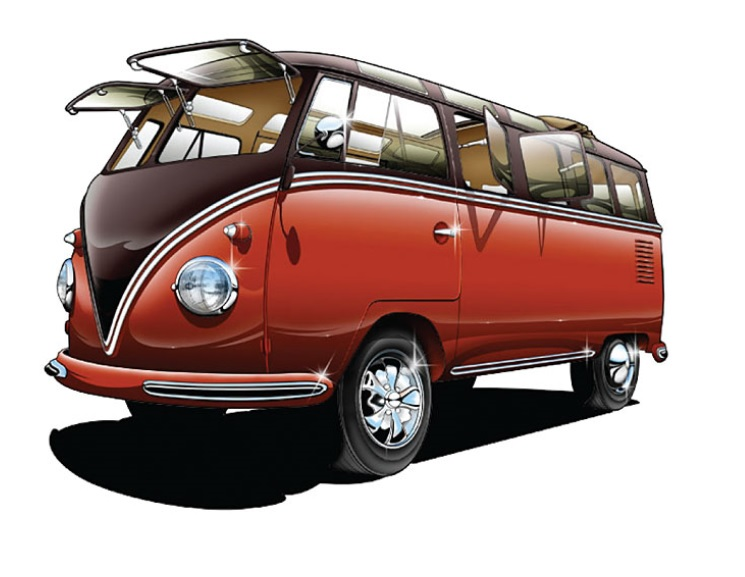 Safari okna přední/Alu - Typ 2 (1964 » 67)