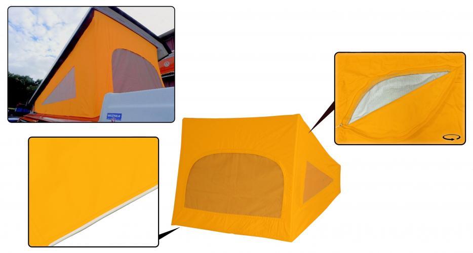 Střecha Westfalia žlutá/3 okna - Typ 2 (1974 » 79)
