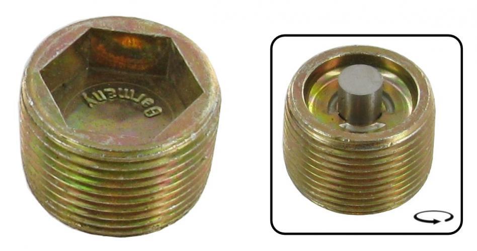 Šroub převodovky magnetický/spodní - Typ 1/2/3/14/181 (1959 » 03)