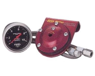 Přístroj černý/tlak paliva/0-1 Bar (Ø 67mm)