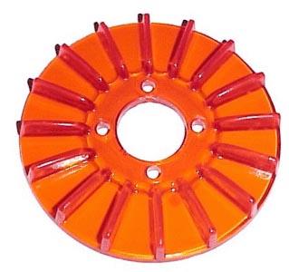 Kryt řemenice červený alt/gen - Typ 1 motor (» 2003)