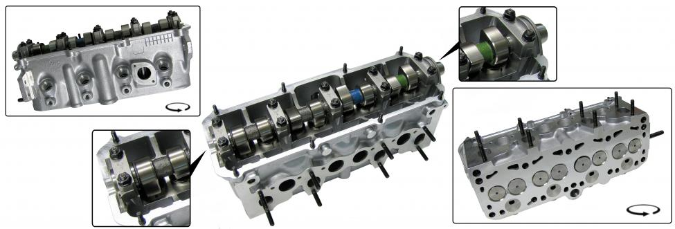 Hlava motoru komplet/1.6TD - Typ 25 (» 1992)