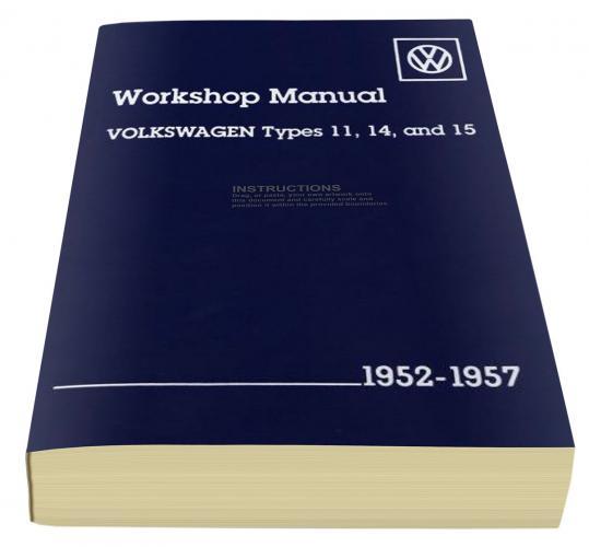 Manuál Bentley/servisní dokumentace - Typ 1/14 (1952 » 57)
