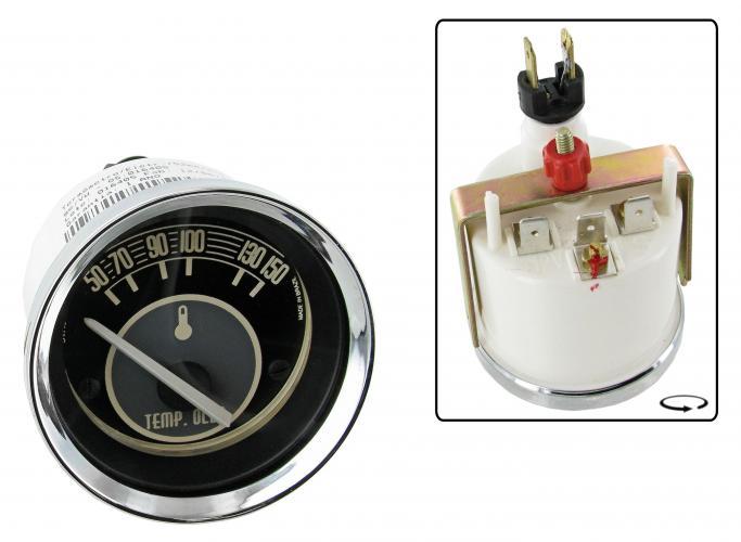 Přístroj černý/teplota oleje/50-150°C (Ø 52mm)