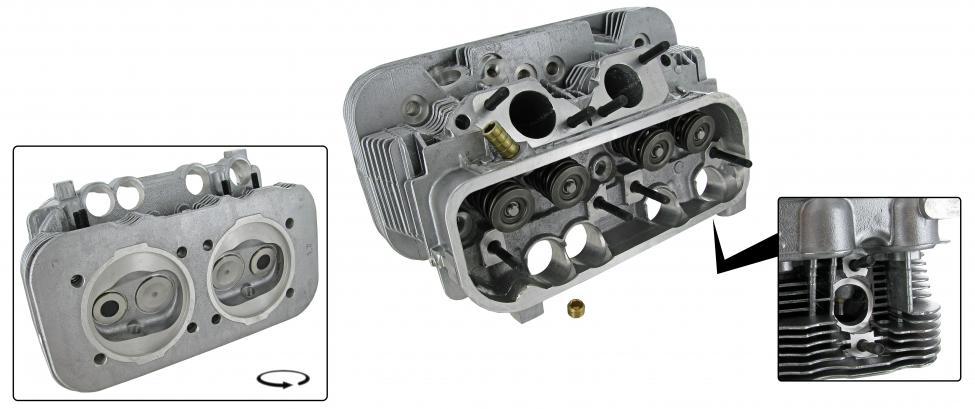 Hlava motoru komplet/dual - Typ 2/4 (IV motor 1.7)