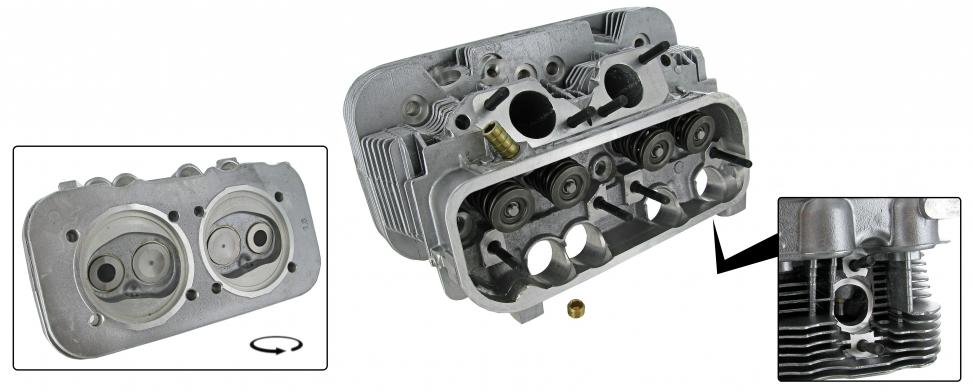 Hlava motoru komplet/dual - Typ 2/4 (IV motor 1.8)