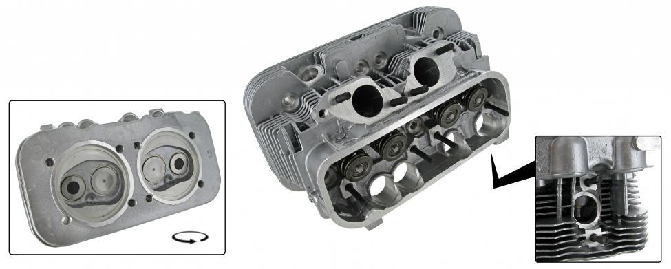 Hlava motoru komplet/dual - Typ 2/4 (IV motor 2.0 » 1978)