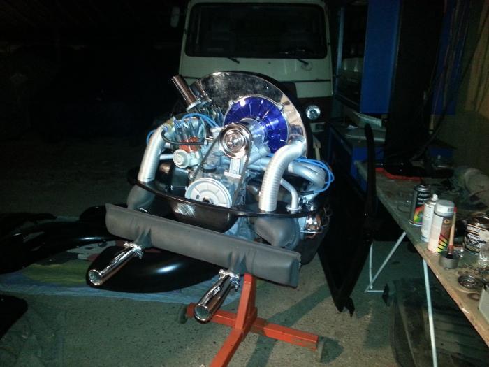 Kryt sahary alt/gen modrý/horní - Typ 1 motor (» 2003)