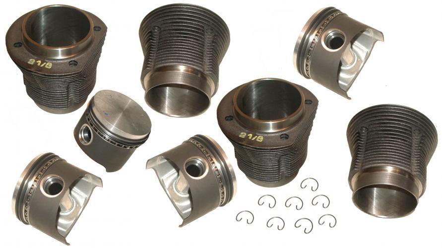Písty/válce kované/kit - Typ 1/3/CT/CZ motory (69x85.5mm)