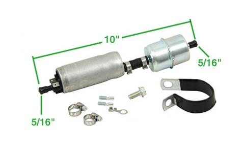 Čerpadlo paliva+filtr 6/12V - Typ (univerzál)