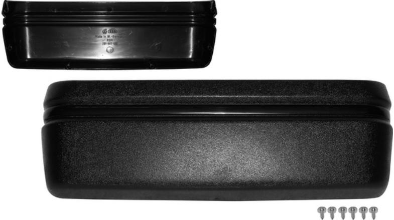 Přihrádka dveřní/černá L/P - Typ 25 (1979 » 92)