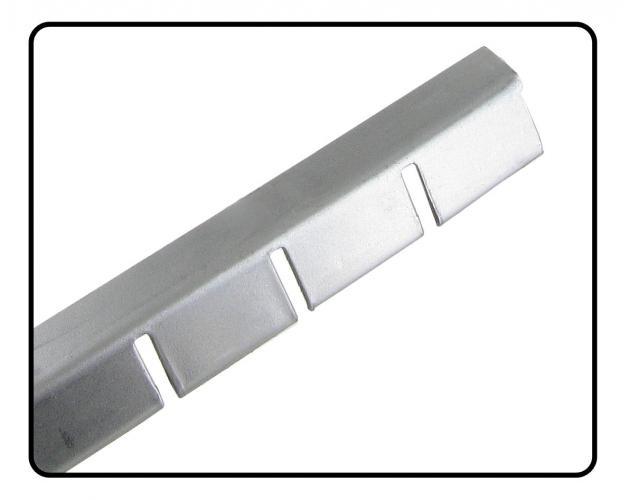 Lišta upínací/lem čalounění B-sloupku - Typ 1 (» 2003)