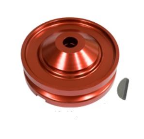 Řemenice HD Alu červená alt/gen - Typ 1 motor (1960 » 03)