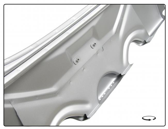Čelo zadní/OE - Typ 1 (1964 » 66)