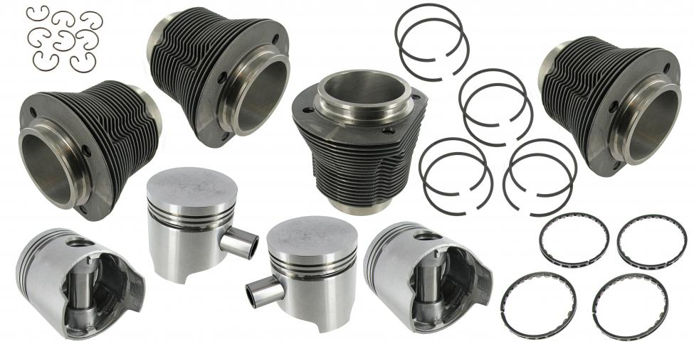 Písty/válce/kit 77mm/69/1285cc - Typ 1 motor (1.3)