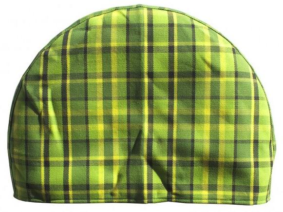 Kryt rezervního kola zelený/žlutá kostka - Typ 2 Westfalia (1967 » 79)