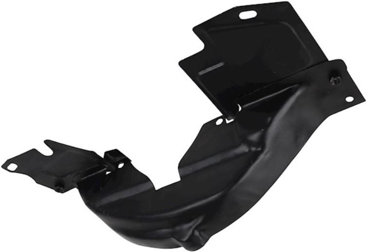 Krycí plech spodní řemenice/černý/široká verze - Typ 1 motor (1971 »)