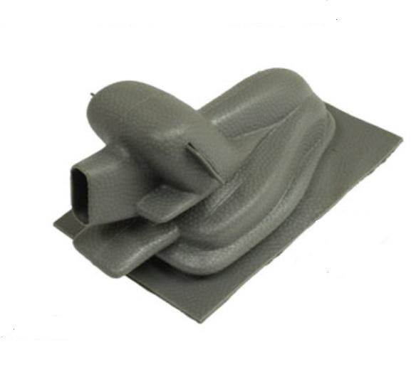 Kryt páky ruční brzdy/šedý - Typ 1/3/14/181 (1967 » 03)