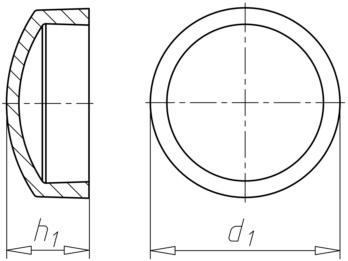 Krytka šroubu/SPZ - Typ (univerzál)