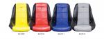 Potah sedadla černo/červený vinyl - T.1 Buggy/Baja (#62-2400)