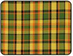 Potah sedadla žlutý/zelená/červená kostka - Typ 2 Westfalia (1967 » 74)