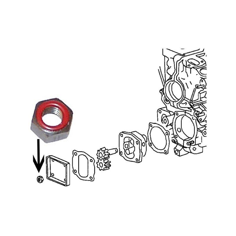 Matice/čerpadlo oleje - Typ 1/3/WBX motory (» 2003)
