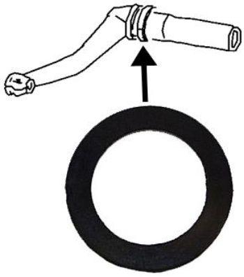 Manžety kyvného ramene horní/spodní - Typ 1/14 (» 1965)