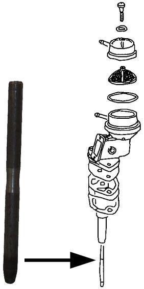 Tyčka čerpadla paliva/108mm - Typ 1/3 motory (» 1973)