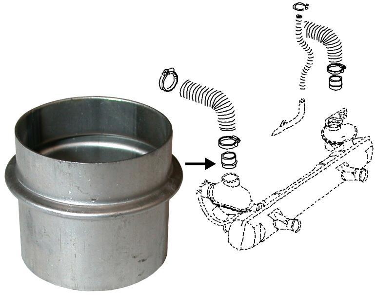 Propojky/hadice chlazení motoru - Typ 1 motor (1963 » 03)