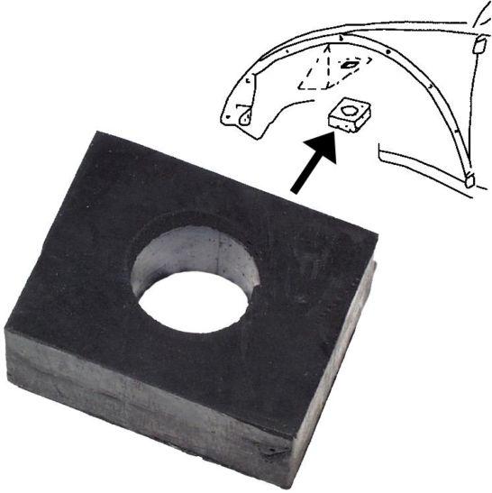 Podložky uchycení přední nápravy/spodní+zadní - Typ 1/14/181 (1960 »)