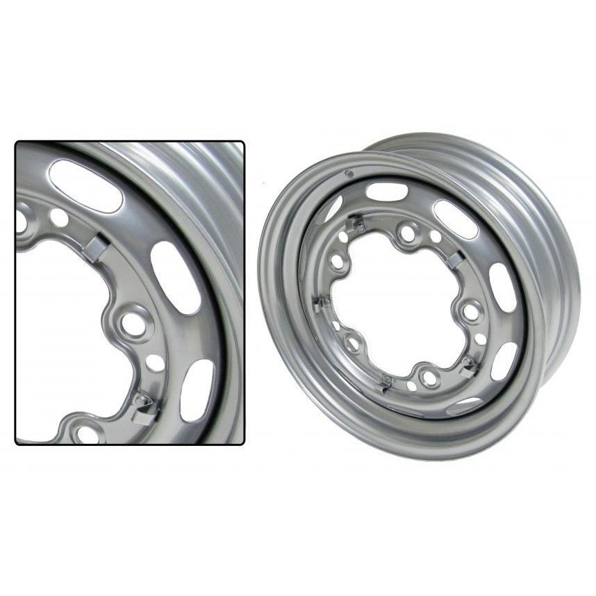 Kolo ocelové/lak 5x205mm ET +15 (5.5x15)