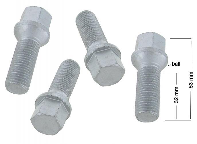 Šrouby kol/zinek (M14x1.5x32mm)