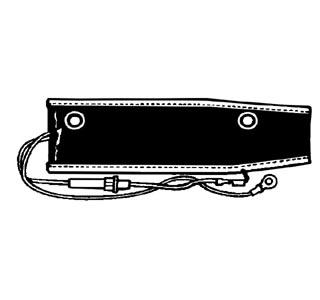 Předehřev sání motoru/12V - Typ 1/2/3/14/181 (karburátor)