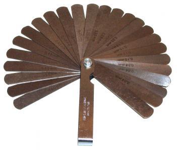 Měrky spárové/nastavení vůle (0.04-0.63mm)