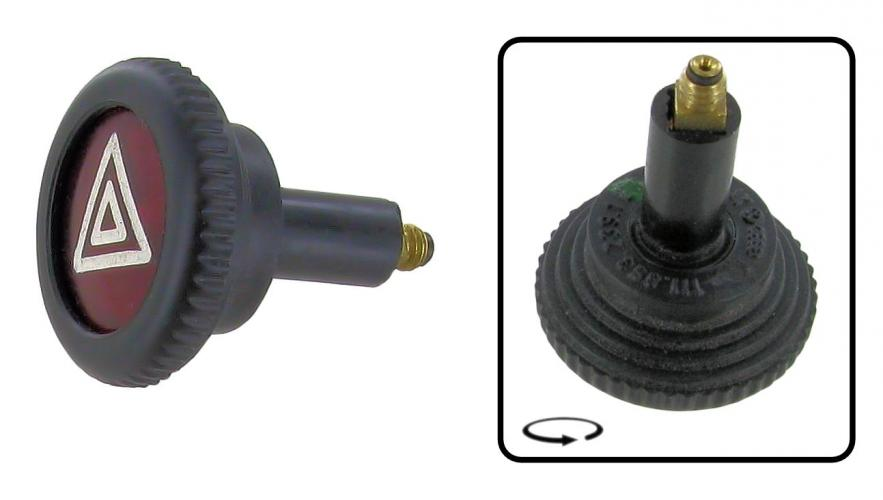 Knoflík 12V/výstražná světla - Typ 1/2/3/14/181 (1967 »)