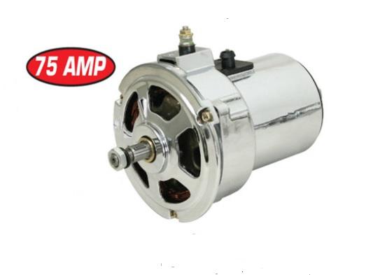 Alternátor chrom 12V/75Amp - Typ 1 motor (1974 »)