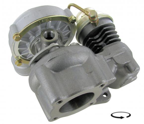 Turbodmychadlo/1.6TD - Typ 25 (1984 » 92)