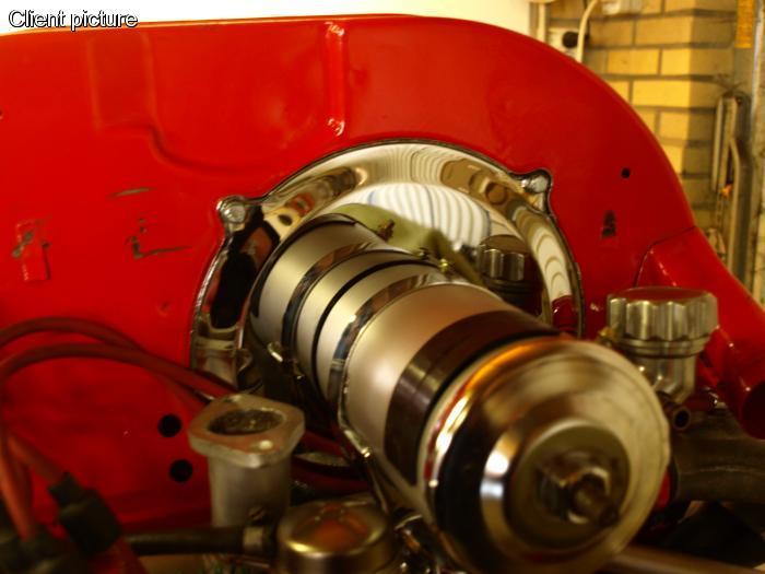 Plechy sahary chrom alt/gen - Typ 1 motor (1960 »)