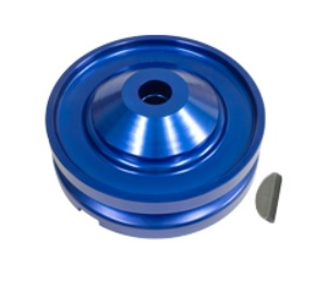 Řemenice HD Alu modrá alt/gen - Typ 1 motor (1960 » 03)