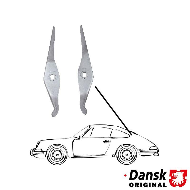 Držáky zavěšení kapoty/zadní - Porsche 911 (1963 » 85)