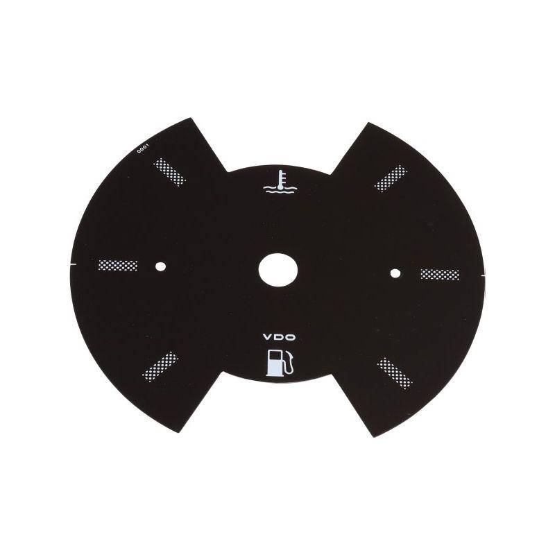 Ciferník přístroje/palivoměr/teploměr - Typ 25 (1979 » 92)