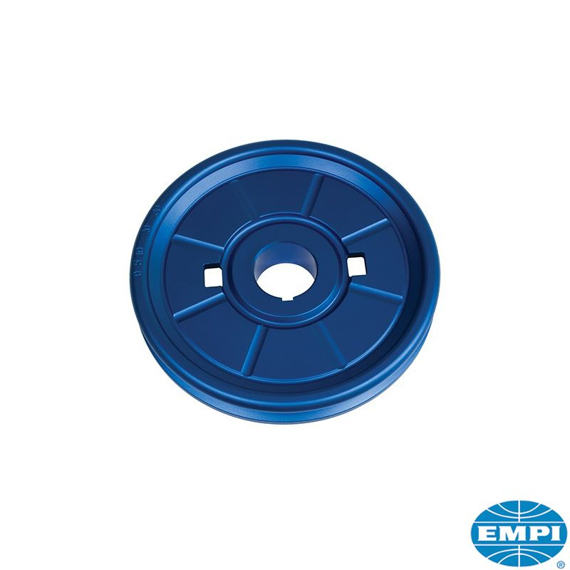 Řemenice klikové hřídele Alu/modrá - Typ 1 motor (1.2-1.6)
