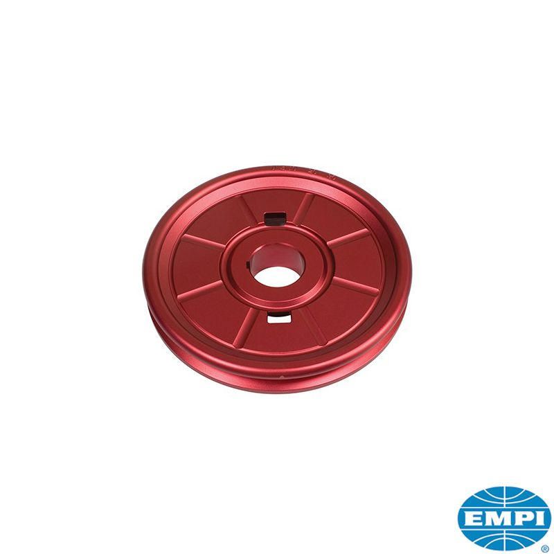 Řemenice klikové hřídele Alu/červená - Typ 1 motor (1.2-1.6)