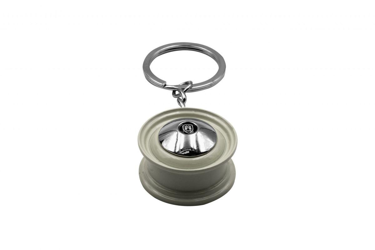 Přívěšek na klíče (bílé kolo)