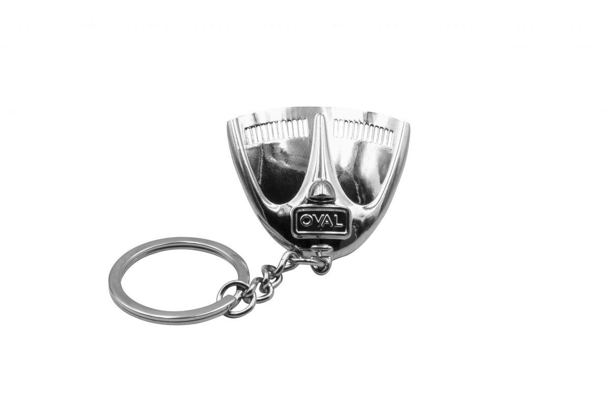 Přívěšek na klíče (chrom kapota OVAL)